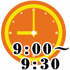 9:00~9:30